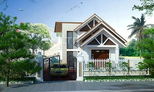 10 mẫu thiết nhà 1 tầng 1 tum đẹp không tưởng