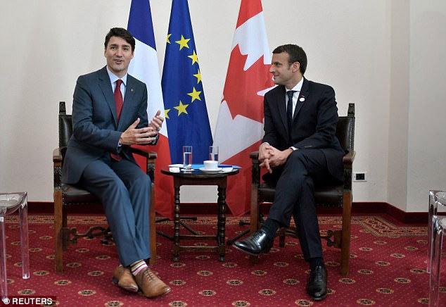 Hai lãnh đạo tuấn tú hàng đầu thế giới gặp nhau