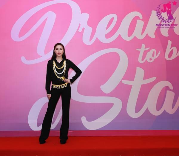 Bảo Thy làm host Miss Teen 2017