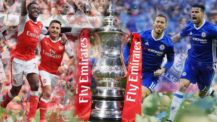 Chung kết FA Cup: Arsenal run rẩy trước 'ngáo ộp' Chelsea