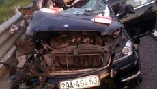 Đâm nghiêm trọng trên cao tốc Hà Nội - Hải Phòng, 3 người thiệt mạng