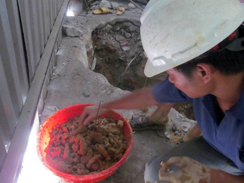 hài cốt, hầm mộ, Quảng Bình