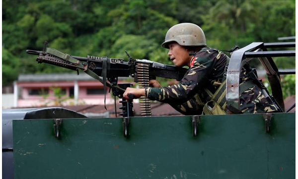 Giao chiến dữ dội ở nam Philippines, thương vong tăng cao
