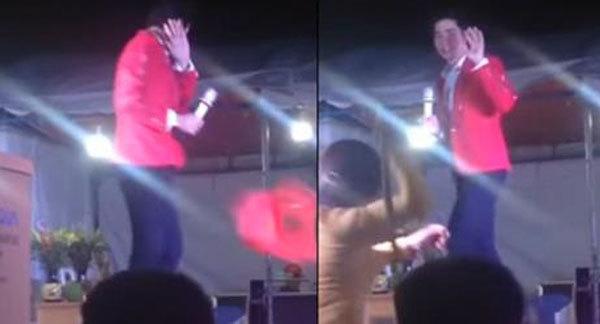 Phản ứng của giới ca sĩ khi Lưu Chí Vỹ bị lăng mạ trên sân khấu