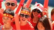 Tự hào sắc đỏ Việt Nam!
