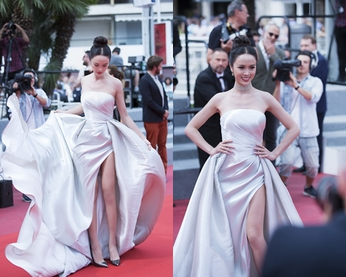 Angela Phương Trinh lại đi trễ, Lý Nhã Kỳ nổi bật với váy 200 triệu