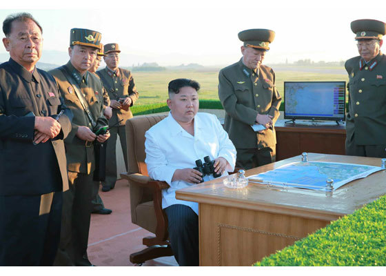 Ông Kim Jong Un xem thử nghiệm vũ khí phòng không mới