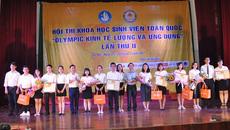 """Sinh viên toàn quốc tham gia """"Olympic Kinh tế lượng và ứng dụng"""""""