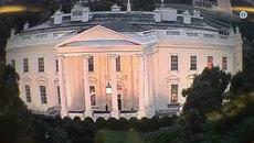 Bí ẩn luồng sáng đỏ nhấp nháy liên tục trong Nhà Trắng