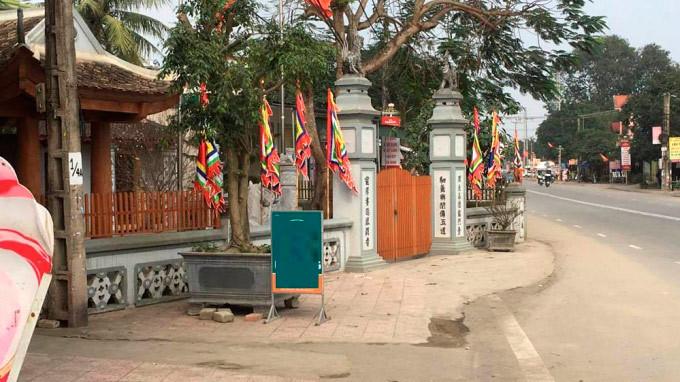 Hà Tĩnh: Nhà thờ họ vướng quốc lộ đã lùi vào 1,2m
