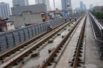 Đường sắt Cát Linh - Hà Đông bị rỉ sét, có vết nứt