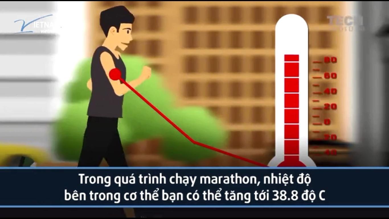 chạy bộ, chạy marathon, giảm cân, bệnh thận, hạ thân nhiệt