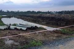 Bé 8 tuổi lọt hố công trình tử vong ở Sài Gòn