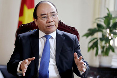 Thủ tướng trả lời Bloomberg về quan hệ hợp tác Việt-Mỹ