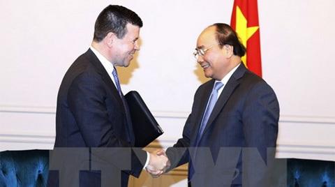 Thủ tướng tiếp phó chủ tịch Nasdaq