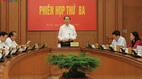 Đề xuất Bộ Chính trị duy trì BCĐ Cải cách tư pháp TƯ