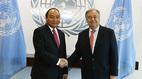 Thủ tướng thăm, làm việc tại trụ sở Liên Hợp Quốc