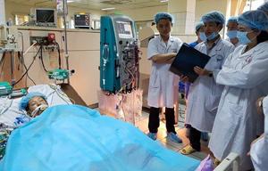 Nguyễn Thị Kim Tiến, suy thận mãn,  chạy thận nhân tạo, Hòa Bình, bệnh thận, bệnh viện đa khoa Hòa Bình