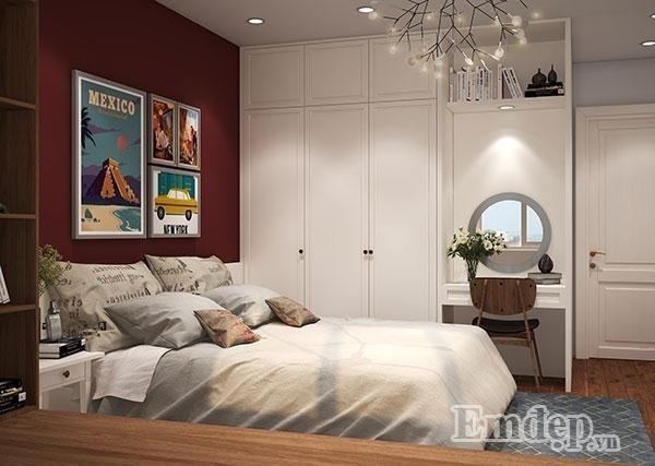 phong cách Retro, thiết kế căn hộ, nội thất căn hộ