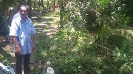 Bà chủ trang trại nghi bị sát hại trong vườn hoang