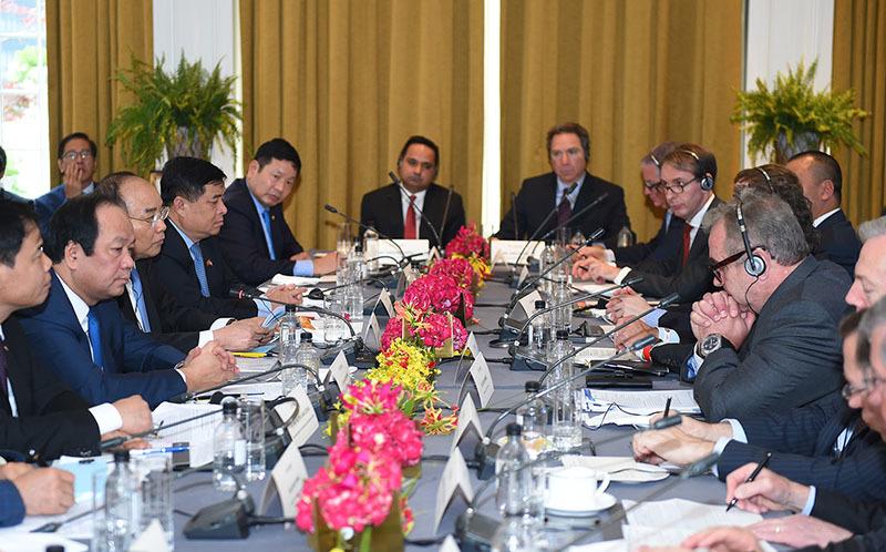 Việt-Mỹ ký kết hàng loạt hợp đồng gần 15 tỉ USD