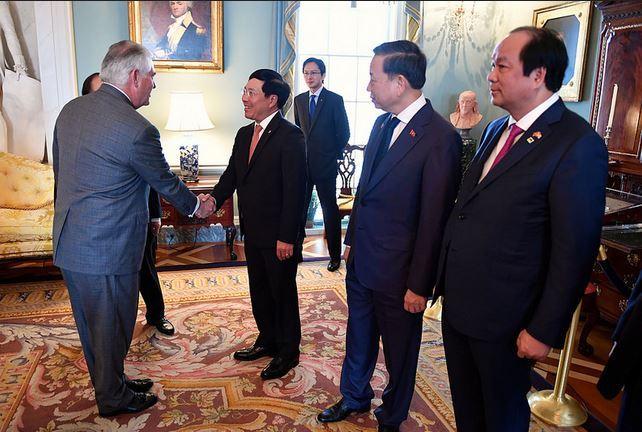 Tiệc trưa đặc biệt của Thủ tướng tại Washington