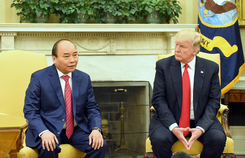 Thủ tướng thăm Mỹ, Thủ tướng Nguyễn Xuân Phúc, Nguyễn Xuân Phúc, Tổng thống Donald Trump, quan hệ Việt-Mỹ