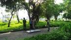 Người đàn ông chết bất thường trong công viên