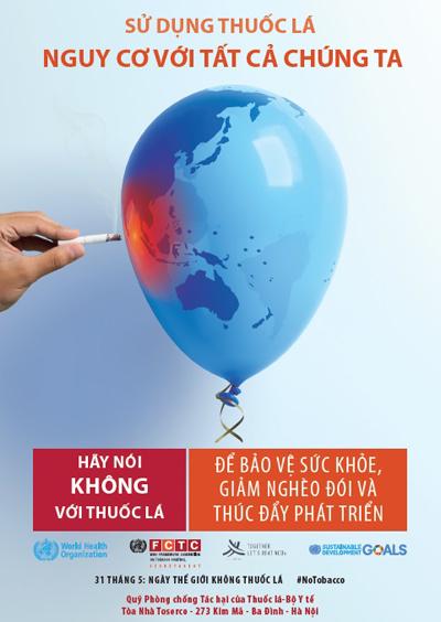 Thế giới mất 1.400 tỷ USD vì thuốc lá