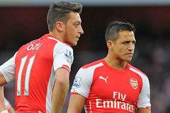 Ozil và Sanchez rủ nhau làm loạn ở Arsenal