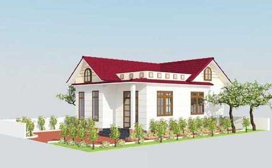 nhà đẹp, xây nhà, vợ chồng trẻ