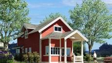 10 mẫu nhà 1 tầng đẹp, phù hợp với vợ chồng trẻ