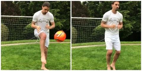 Ibrahimovic hồi phục thần kỳ
