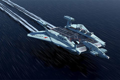 """Tàu sân bay nguyên tử """"quái vật biển"""" của Liên Xô"""