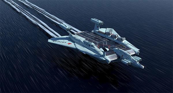 Tàu sân bay nguyên tử 'quái vật biển' của Liên Xô