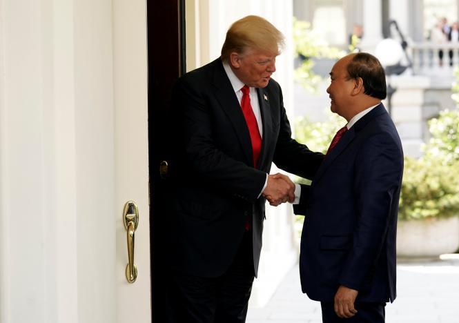 Thủ tướng Nguyễn Xuân Phúc,Donald Trump,quan hệ Việt- Mỹ