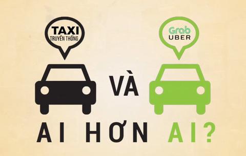 Taxi truyền thống và Grab, Uber: Ai hơn ai?