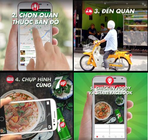 Hành trình 'ăn xuyên Việt' cùng 7UP