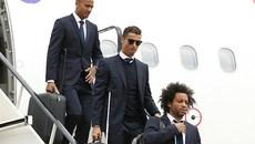 Ronaldo và đồng đội như tài tử điện ảnh đổ bộ xứ Wales