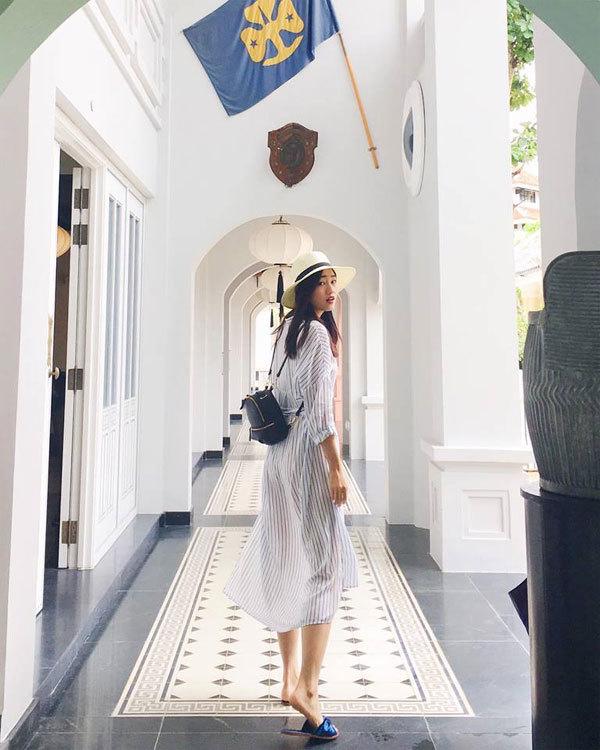 Hoàng Thùy Linh, Hồ Ngọc Hà, sao Việt du lịch