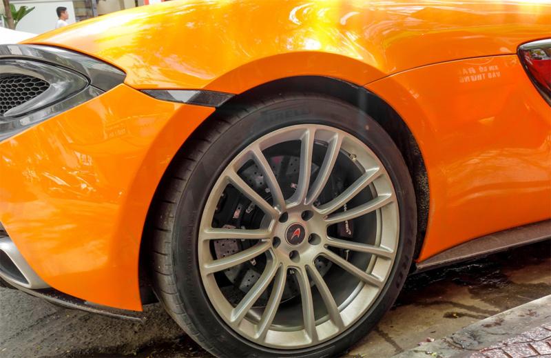Siêu xe McLaren 570S 12,5 tỷ của trùm ma tuý ở Sài Gòn