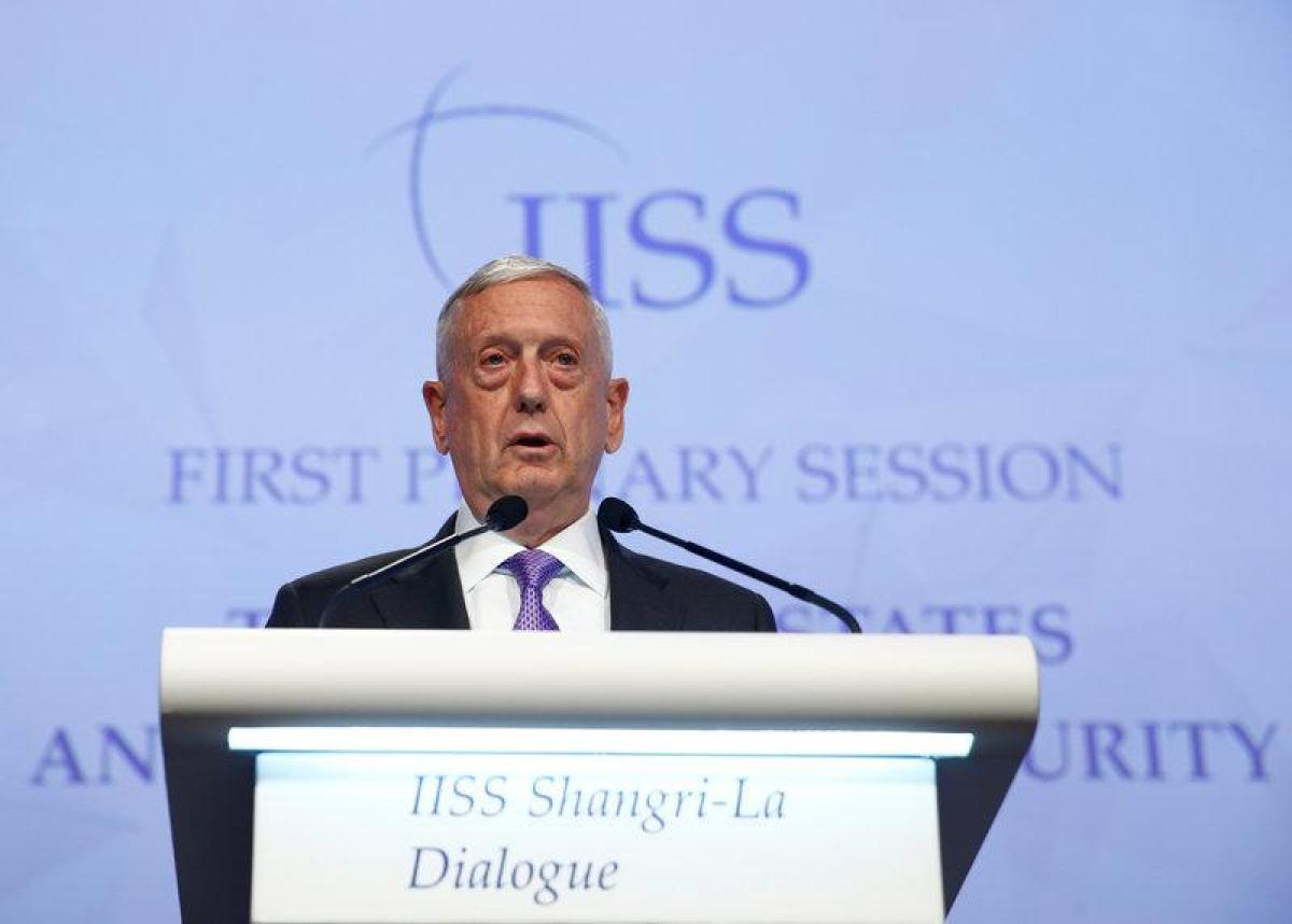 Mỹ không chấp nhận Trung Quốc quân sự hóa đảo ở Biển Đông