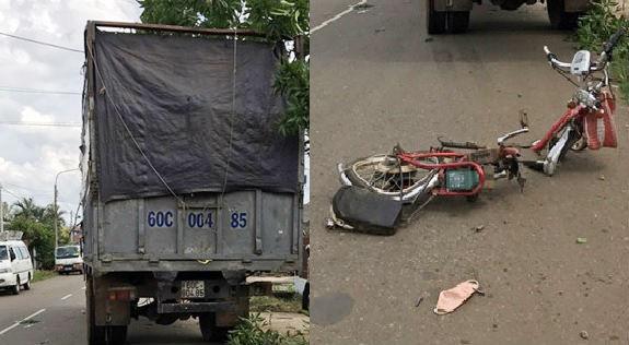 Trên đường về nhà, 2 nữ sinh bị xe tải tông tử vong