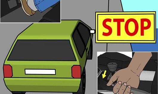 kỹ năng lái xe, lái xe số sàn, tài xế