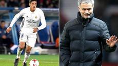 Mourinho đi đêm Varane, Ronaldo đóng cửa với De Gea