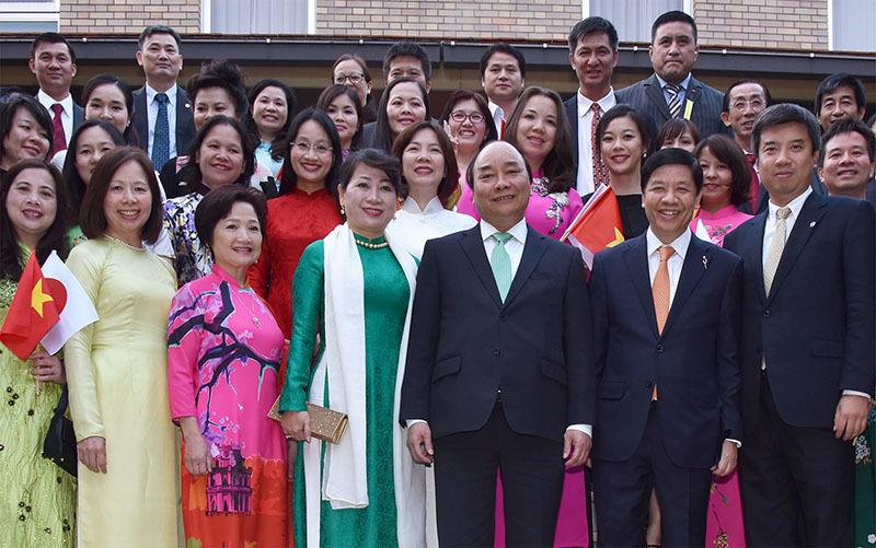 Thủ tướng Nguyễn Xuân Phúc, Nguyễn Xuân Phúc, Thủ tướng thăm Nhật, quan hệ Việt - Nhật