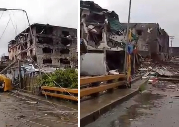 Vỡ lệnh ngừng bắn, thành phố Philippines thành đống đổ nát