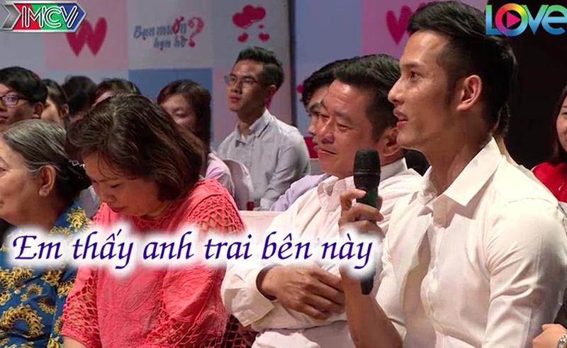 Bạn muốn hẹn hò: Chàng trai đẹp dưới hàng ghế khán giả thu hút dân mạng