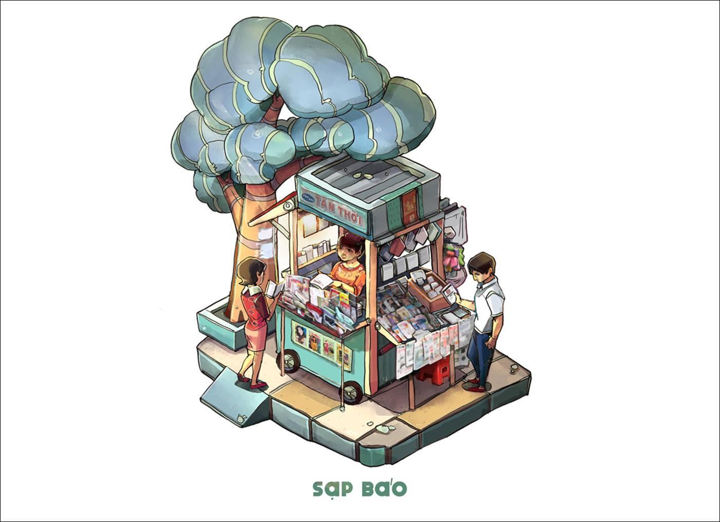 Yêu thương đong đầy trong 'Sài Gòn 3 mét vuông'