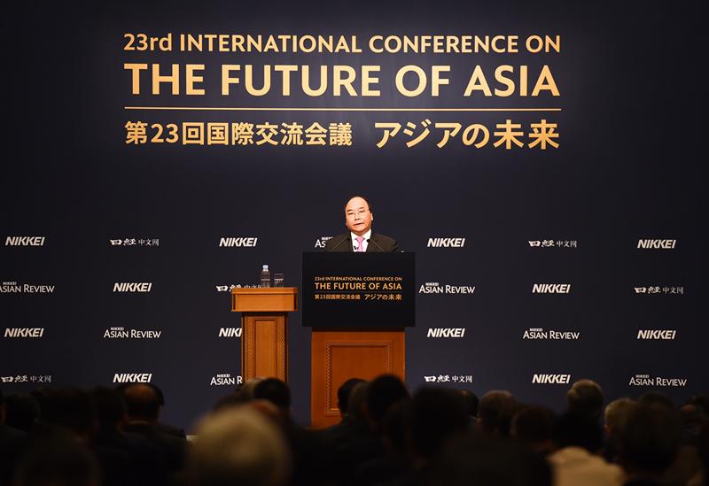Thủ tướng Nguyễn Xuân Phúc,Nguyễn Xuân Phúc,Thủ tướng thăm Nhật
